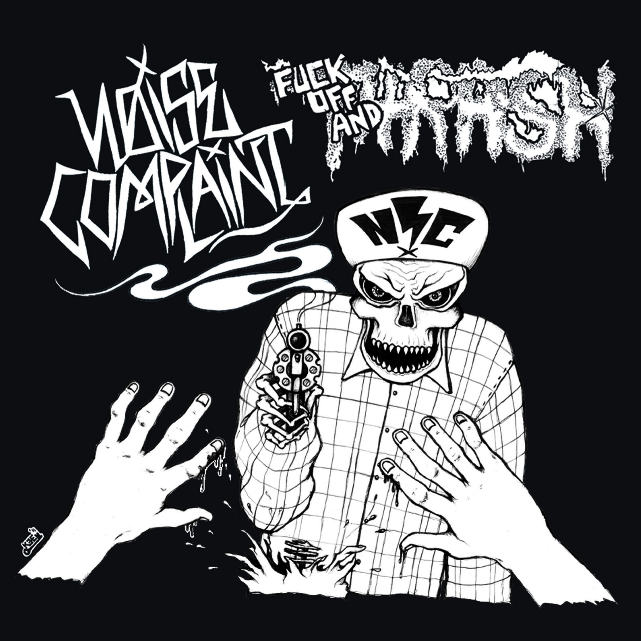"""Noise Complaint- Fuck Off and Thrash 7"""""""